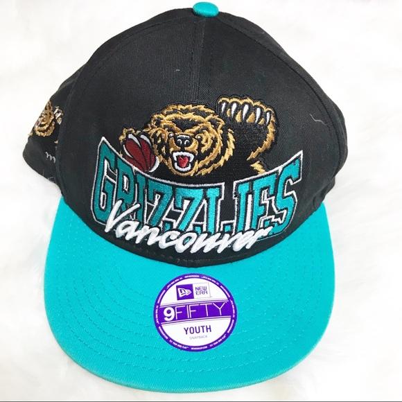 reputable site 99bf2 616ec Vancouver Grizzlies New Era Throwback SnapBack